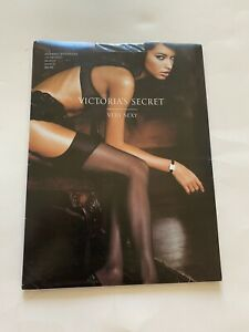 Victoria's Secret VERY SEXY Classic Black Stocking Thigh High Size C 163 Lbs Max