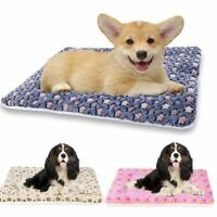 Self Warming Pet Bed Cushion Pad Dog Cat Cage Kennel Crate Soft Cozy Mat S/M/LXL