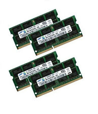 4x 8gb 32gb ddr3 1600 RAM Per Lenovo Thinkpad w510 w520 Samsung pc3-12800s