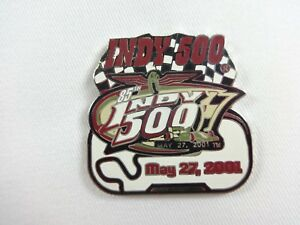 2001 Indianapolis 500 Event Track Collector Lapel Pin IndyCar Helio Castroneves