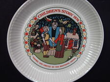 Wedgwood 1976 Children's Stories Hansel And Gretel Brothers Grim Plate Mib