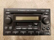 New listing 2005 Honda Crv 6 Disc Cd Cassette Player Radio Receiver Oem, Xm - with Tape Deck