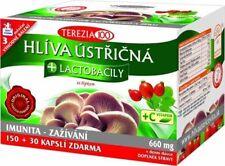 Oyster mushroom + probiotics + Vitamic C BIO 180 capsules 660 mg Vitamins Diet
