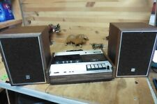 Vintage Marantz Toshiba Super Scope CD-302 Cassette Deck working & 2 speakers