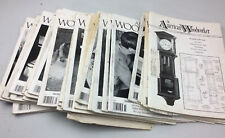 The American Woodworker Magazines 1980's & 1990's (28 Total)