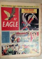 1955 Classic Eagle Comic Vol 6 No 42 Dan Dare in The Man From Nowhere - 21st Oct