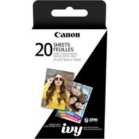 "Canon 2x3"" ZINK Photo Paper Pack (20 Sheets)"