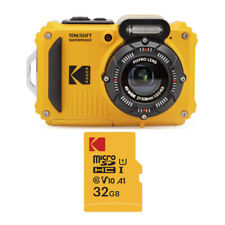 Kodak PIXPRO WPZ2 Rugged Waterproof 16MP Digital Camera and 32GB microSD Card