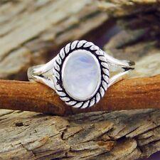 New Look 925 Sterling Silver Hot Rainbow Moonstone Ring SZ-9 sr-762