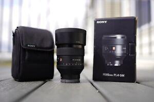 Sony G-Series 85mm F/1.4 GM FE Lens 9.9/10