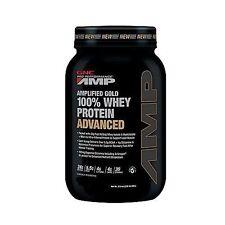 GNC Pro Performance Amplified gold 100% Whey Protein Advanced Powder Vanilla 2lb