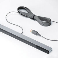 FJ- GN- Wired Infrared IR Signal Ray Sensor Bar Receiver for Wii Remote Control
