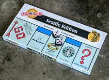 New / Sealed Monopoly - Authorized Seattle Edition (1997 Usaopoly)