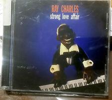 RAY CHARLES STRONG LOVE AFFAIR CD 1995 RARO