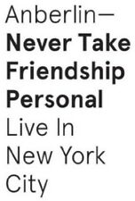 Never Take Friendship Personal: Live New York City - Anberlin (2015, CD NIEUW)