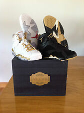Nike AIR JORDAN GOLDEN MOMENTS PACK GMP retro 6/7 vi vii SZ 9.5  dmp gold medal