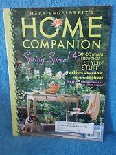 Mary Engelbreit's April & May 2002 Home Companion Magazine with Paper Doll