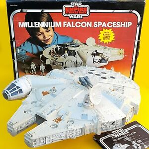 Vintage Star Wars ESB Palitoy Millenium Falcon Boxed 100% Complete Instructions