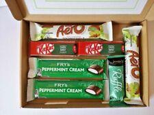 Mint Chocolate Present Personalised Gift Hamper Aero Ruffles Daim Mint Kit Kat