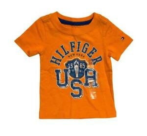 Tommy Hilfiger Graphic T-Shirt Baby Boys Crew Neck Tee - CHOOSE COLOR & SIZE