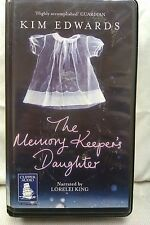 The Memory Keeper's Daughter by Kim Edwards: Unabridged Cassette Audiobook (U2)