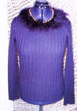 Hüftlange Only Damen-Pullover mit mittlerer Strickart