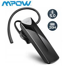 Mpow Bluetooth Handy Headset Freisprechen Kabellos Kopfhörer In Ear mit Mikrofon