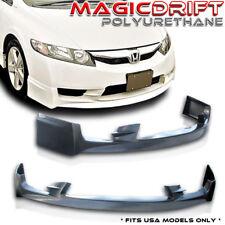 09 10 11 Honda Civic 4Dr MU-GEN MUG USA Front Flexible Durable PU Lip (Urethane)