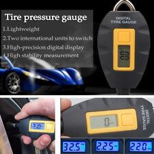 1x LCD Car Wheel Tire Air Pressure Gauge Tester Tool Motorcycle Tyre PSI KPA BAR