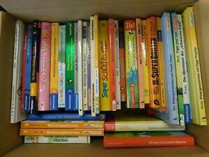 36 Bücher erstes Lesen junge Leser Abenteuerromane Kinderromane Hardcover