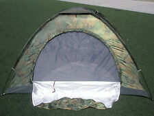 Outdoor Hiking Fishing Military Style Camouflage Camping Tent for 2 or 3 Person