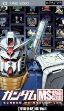 Gundam Ms Movie Files - UMD Movie - 2009 - Sony PSP [Japanese PSP Only]