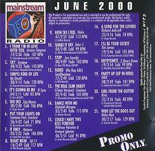 Promo Only: Mainstream Radio June 2000 (U.S. 21 Track Promo CD) * 3 DOORS DOWN