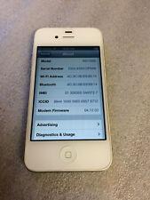 Apple iPhone 4 - 8GB - White-MD198B- ( Vodafone UK )
