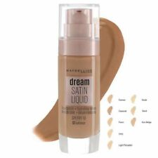 MAYBELLINE Dream Satin Liquid Foundation 30ml SPF13  SEALED - various shades