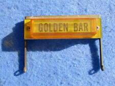 Wurlitzer 2900 3000 3100 3200 Coin Denomination Label Golden Bar 5 different