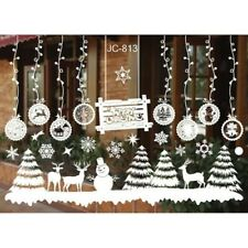 Merry Christmas Removable Vinyl Art Home Window Stickers Store Wall Decal Decor