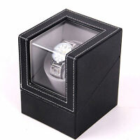 Automatic Rotation Watch Winder Display Box Case Gift Storage Organizer Holder
