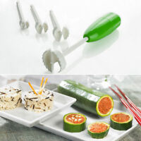 Fruit Vegetable Spiral Cutter Corer Digging Vege Drill Spiralizer Kitchen Tools