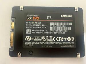 Samsung 860 EVO 4TB 2.5 Inch SATA III Internal SSD 00353D