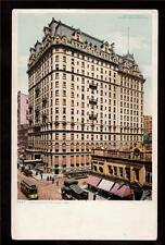 1904 Hotel Manhattan building New York city architecture postcard
