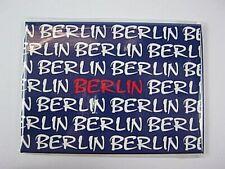 Berlin Germany Foto Magnet XXL blau weiß,Deutschland Souvenir,9 cm,neu