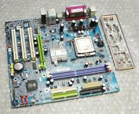 Gigabyte GA-8S661FXM-775 Socket 775 / LGA775 Motherboard with CPU & Back Plate