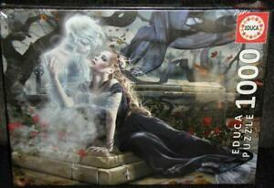 1000pc Puzzle Educa Bride in Black (Ghost Lover Cemetery Tomb) Beautiful 68x48cm