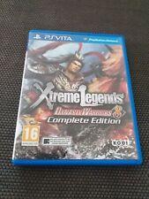Jeu Ps vita PlayStation Dynasty Warriors 8 Xtreme LegendsTBE France