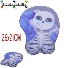 NEW Hot Mice Pad Game Undertale Sans 3D Soft Hip Silicone Mousepad Play Mat