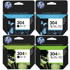 Original HP 304 / 304XL Black & Colour Ink Cartridges For DeskJet 2620 Printer
