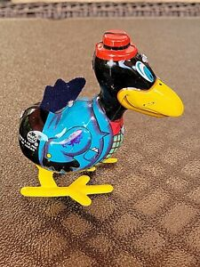 Vintage Crow Hopping MARX Wind-Up Tin Toy by MARX JAPAN