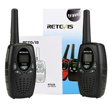 2× Retevis NEW Walkie Talkie 0.5W USA Frequency 2-Way Radio 22 FRS/GMRS