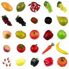 Premium Artificial Fruit and Vegetables! High Quality Weighted and Hand Painted!